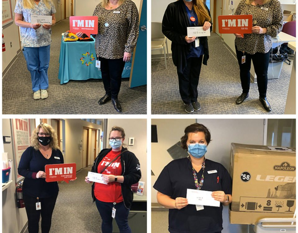 "Congrats to the ""I'm In"" Staff Campaign winners"