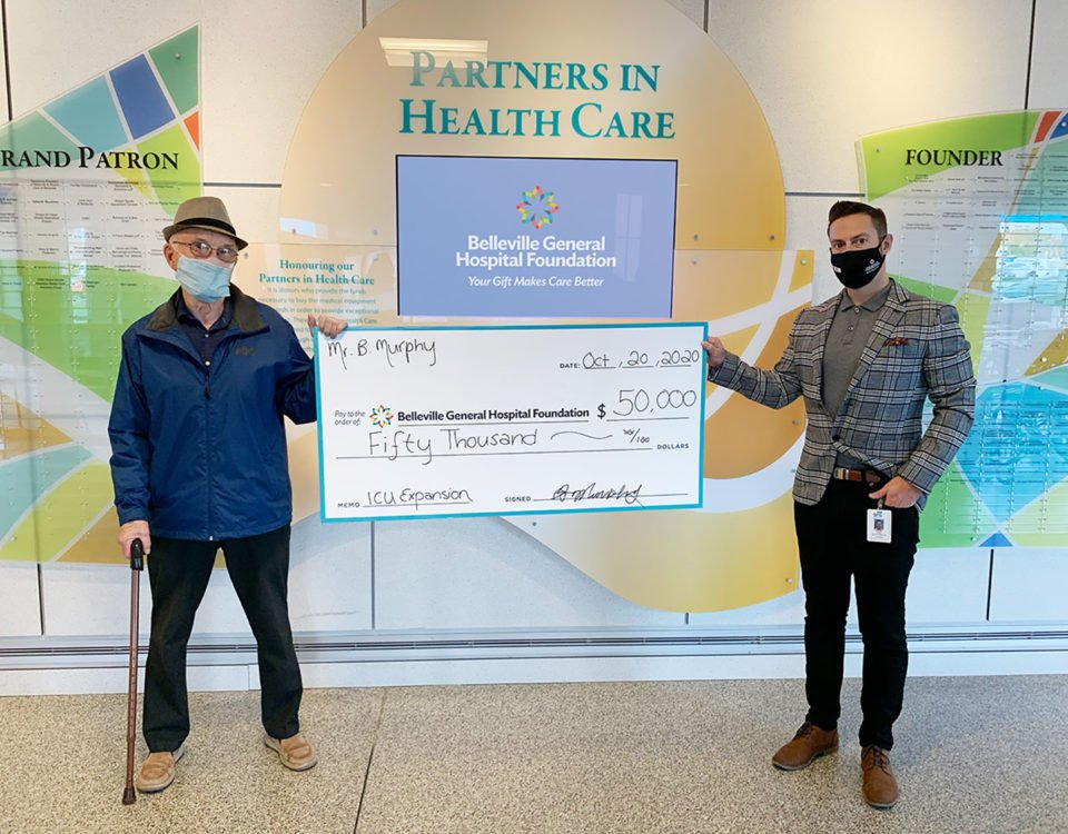 Local couple realize importance of BGH Intensive Care expansion with $50,000 gift