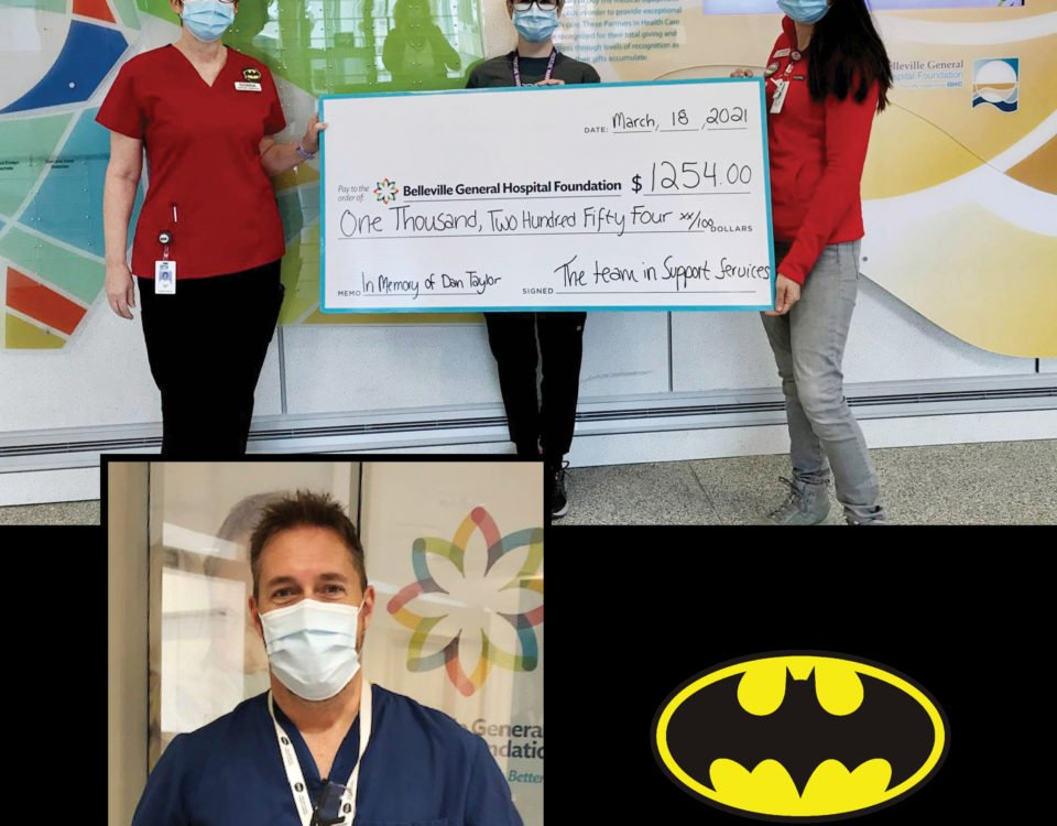 BGH Support Services honors Dan Taylor