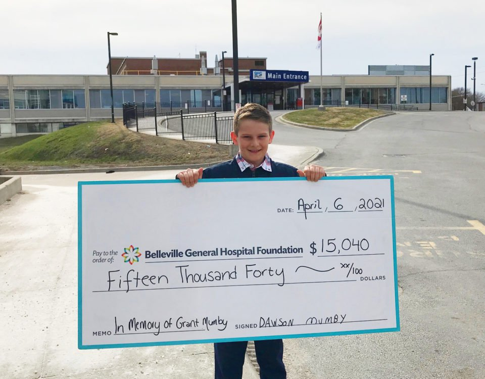 Dawson Mumby raises $15,040 in honor of his grandfather
