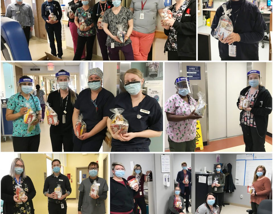 Thank you Quinte Gardens – Sienna Living for spreading some joy to our teams at BGH.