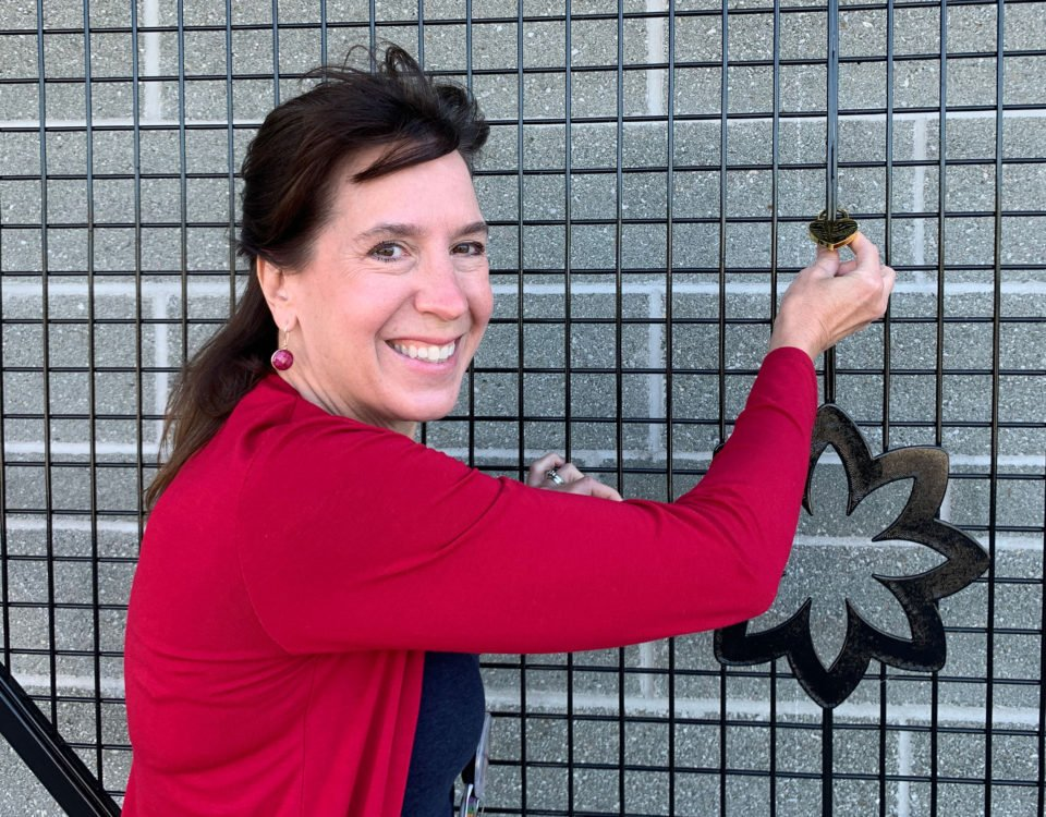 QHC CEO and President Stacey Daub purchases the first BGHF Love Lock