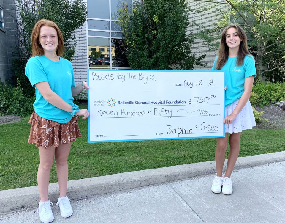 Two Young Entrepreneurs Turn Their Success into a Fundraiser for the BGHF